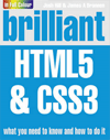 kniha brilliant HTML5 and CSS3